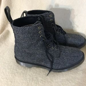 Dr Martens Made in England Harris Tweed Boots Mens